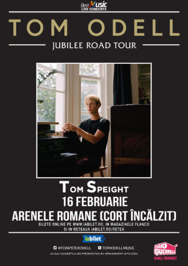 Tom Odell la Arenele Romane: Golden Circle Sold Out