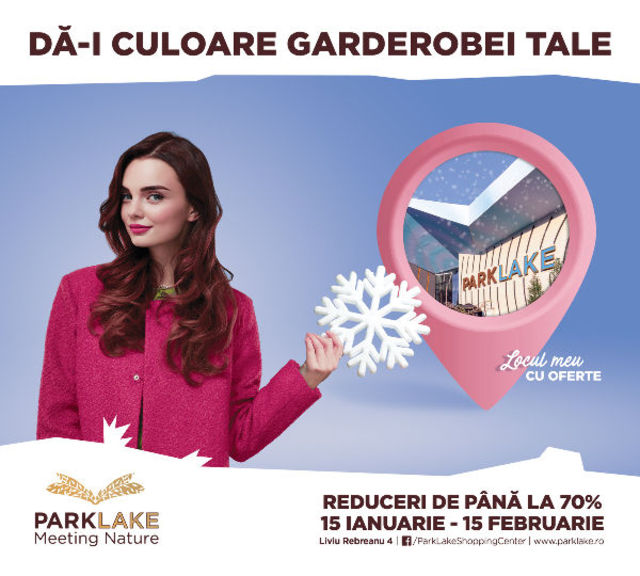 ParkLake Shopping Center a lansat campania ,,Winter Sales""