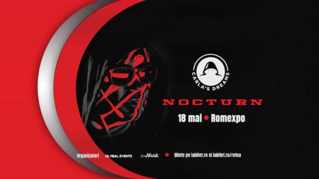 "DELIA vine la ""Nocturn"", concertul Carla's Dreams de la Romexpo de pe 18 mai"
