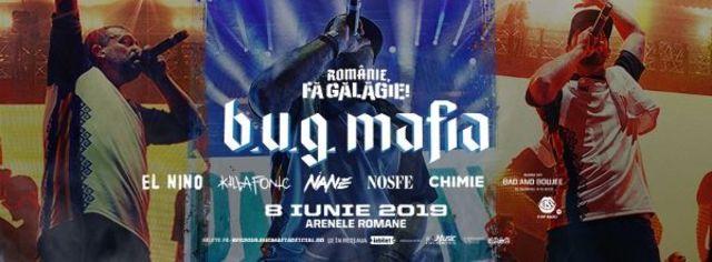 B.U.G. Mafia la Arenele Romane: Ultima saptamana de earlybird!