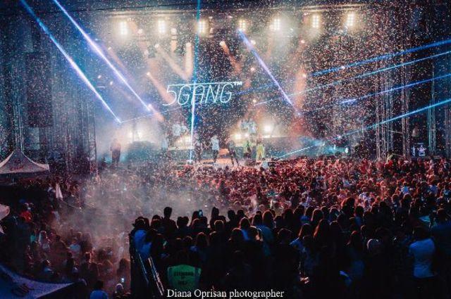 5GANG – record absolut pe 1 Iunie, la Arenele Romane: 10.000 de spectatori, in doua spectacole consecutive, sold out