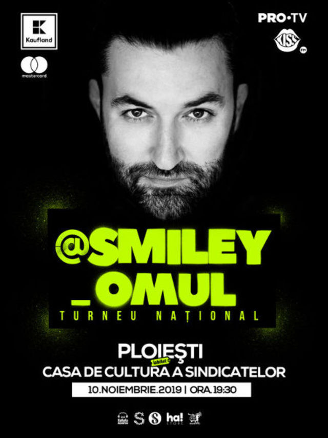 @Smiley_Omul este sold-out la Ploiesti