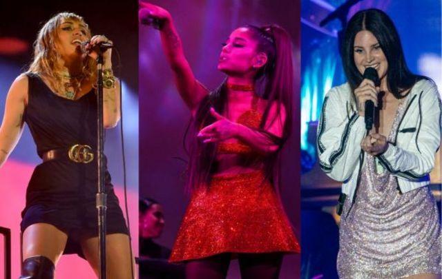 Miley Cyrus a anuntat data colaborarii cu Ariana Grande si Lana Del Rey