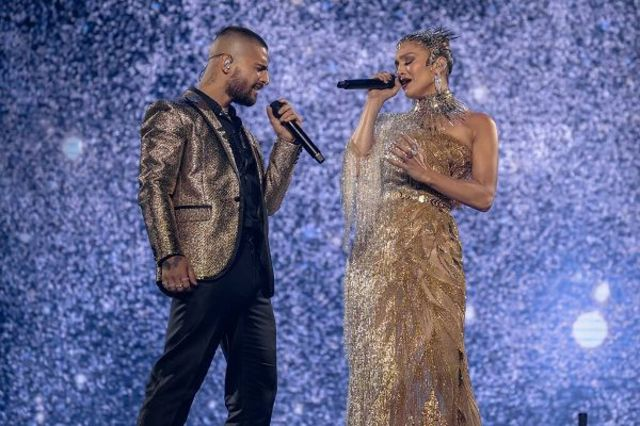 J.Lo si Maluma, in concert la Madison Square Garden