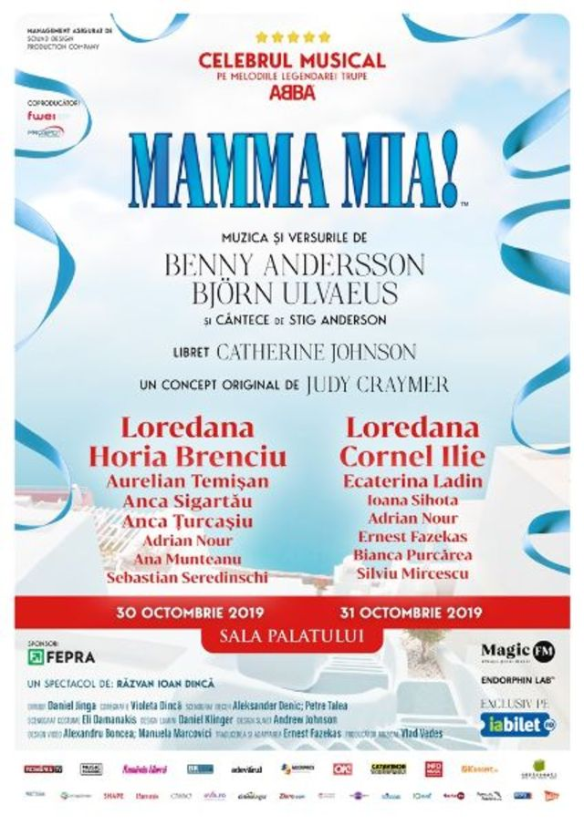 """MAMMA MIA!"" in turneu national"