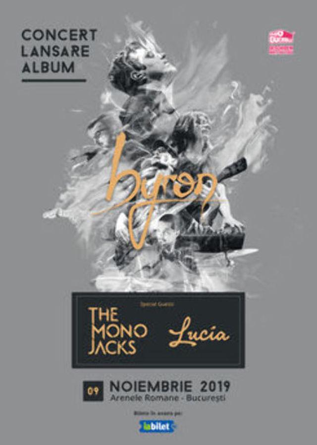 The Mono Jacks deschide concertul de lansare al noului album byron de la Arenele Romane