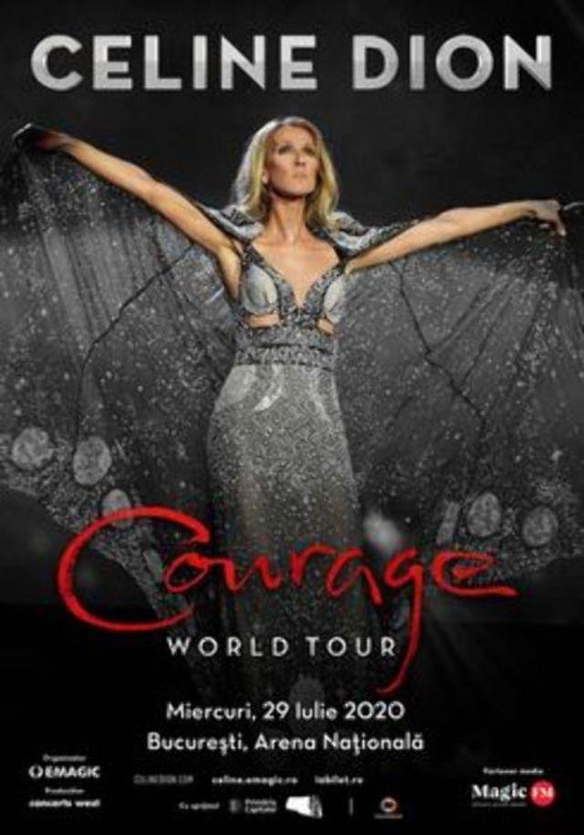 Celine Dion va concerta pe 29 iulie 2020 in premiera in Bucuresti, pe Arena Nationala