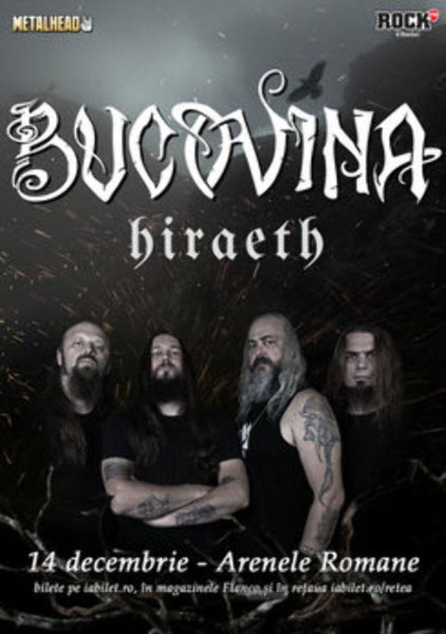 Hiraeth vor deschide concertul Bucovina de la Arenele Romane