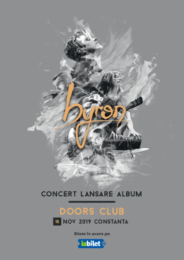 "byron lanseaza album nou la Doors Club - ""Noua"""