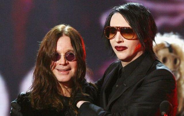 Ozzy Osbourne si Marilyn Manson, impreuna in turneu