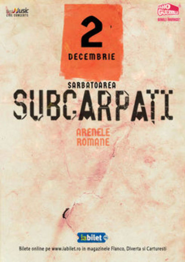 Sarbatoarea Subcarpati 2019 si pe 2 decembrie la Arenele Romane