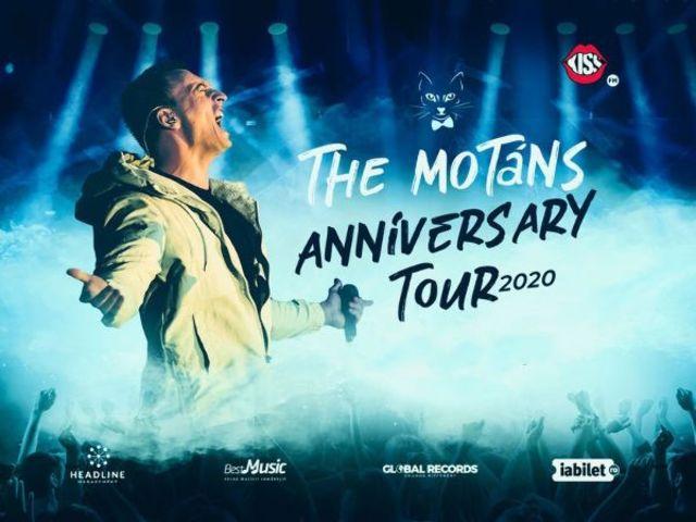 Turneul Aniversar The Motans ajunge in 7 orase in luna februarie