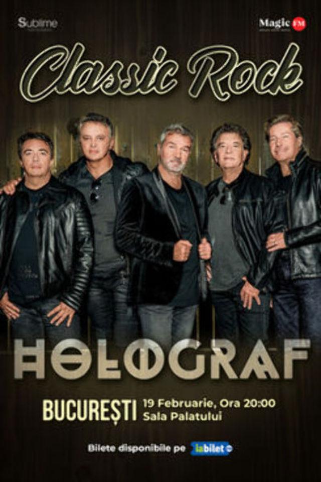 Holograf te invita la un concert-eveniment la Sala Paltului