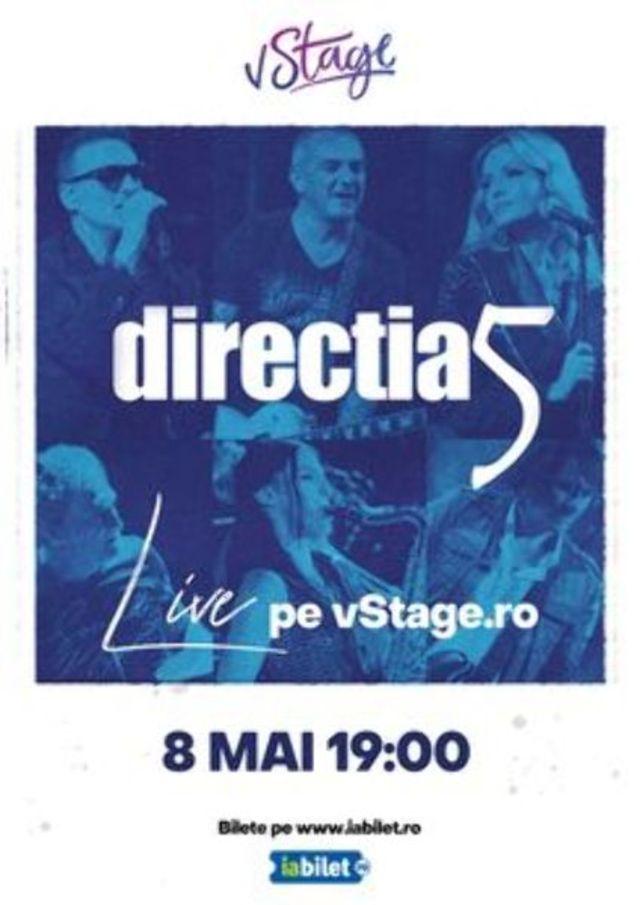 Directia 5 Live pe vStage.ro
