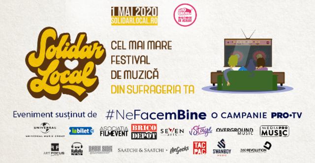 74.000 de lei stransi la festivalul online SolidarLocal, banii merg catre Daruieste Viata