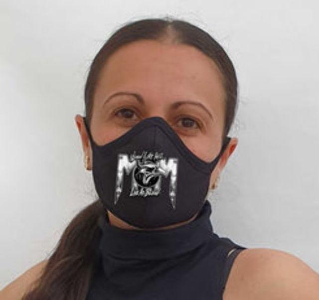 Masti de protectie de bumbac METALHEAD