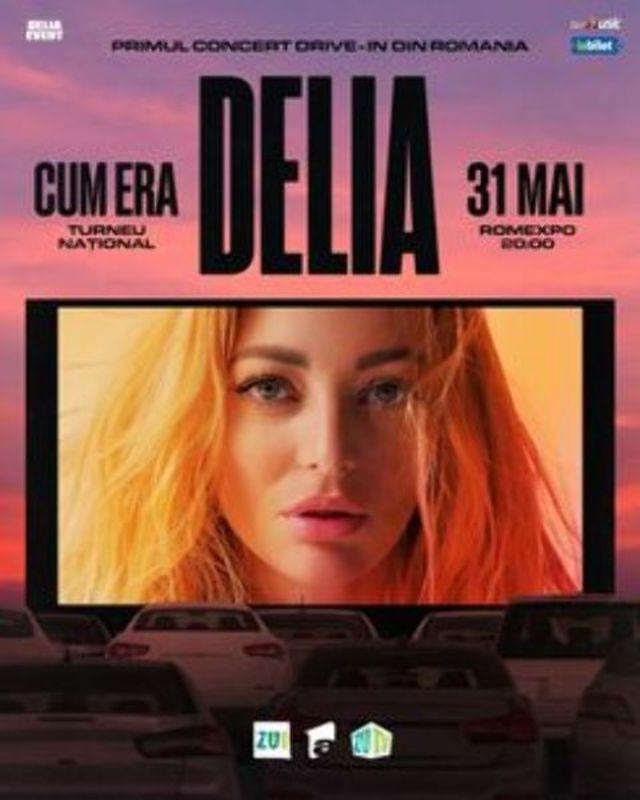 Delia - Primul concert Drive-IN din Romania, pe 31 mai la Romexpo