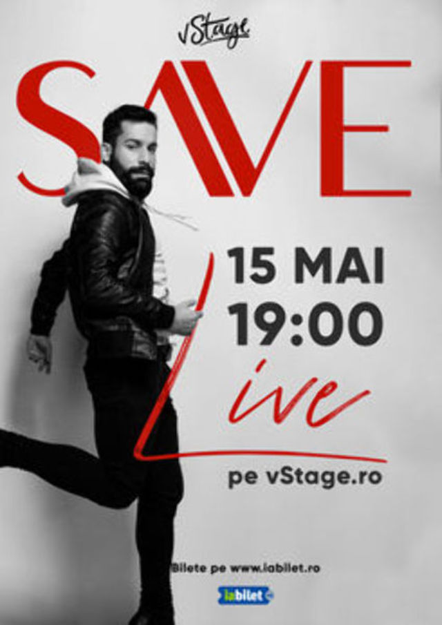 SAVE canta Live pe vStage.ro, din Museum of Senses