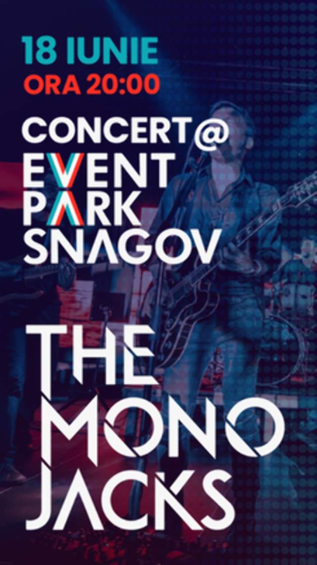 Lagoo Snagov - Concert The Mono Jacks, pe 18 iunie