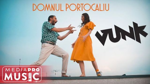 """Vunk lanseaza """"Domnul Portocaliu"""""""