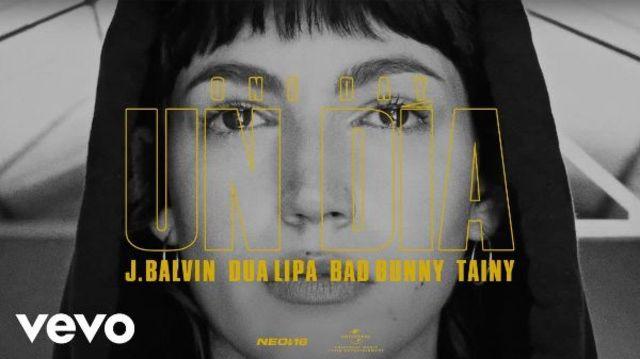 "J Balvin, Dua Lipa, Bad Bunny si Tainy au lansat piesa ""Un Dia (One Day)"""