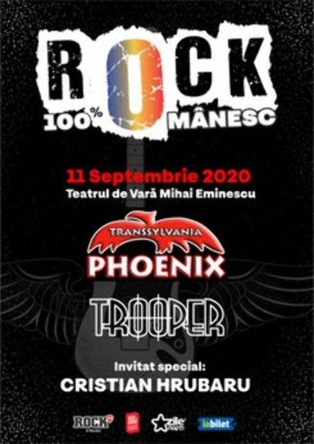 ROCK 100% ROMANESC CU PHOENIX SI TROOPER