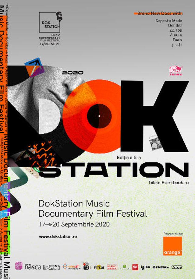 A cincea editie DokStation Music Documentary Film Festival vine la Bucuresti, intre 17-20 septembrie