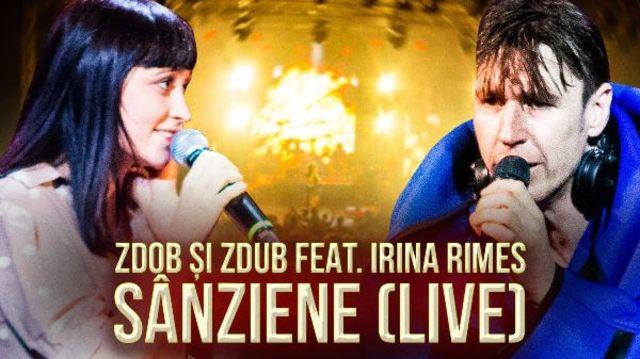 Zdob si Zdub au lansat un clip live pentru 'Sanziene' alaturi de Irina Rimes