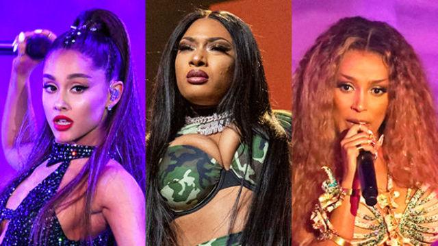 """Ariana Grande, Megan Thee Stallion, Doja Cat au facut un remix pentru """"34+35"""""""