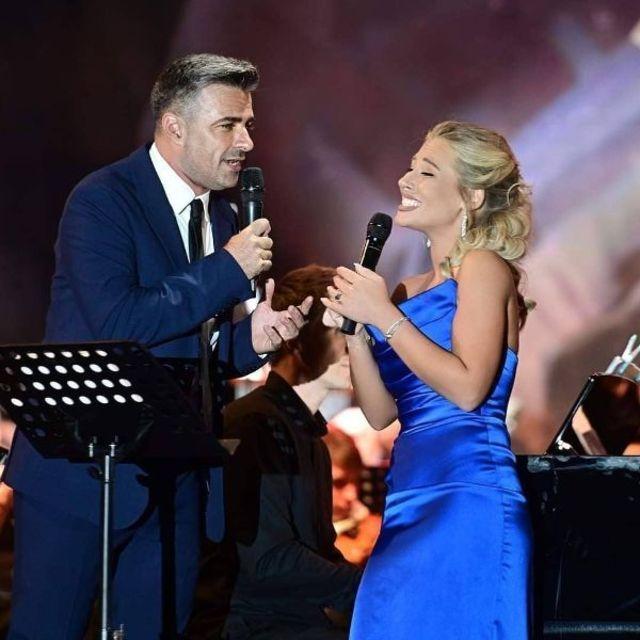 """In preambulul concertului de pe 6 septembrie din Bucuresti, IRINA BAIANT a lansat piesa """"Inchid ochii"""" alaturi de Cornel Ilie"""