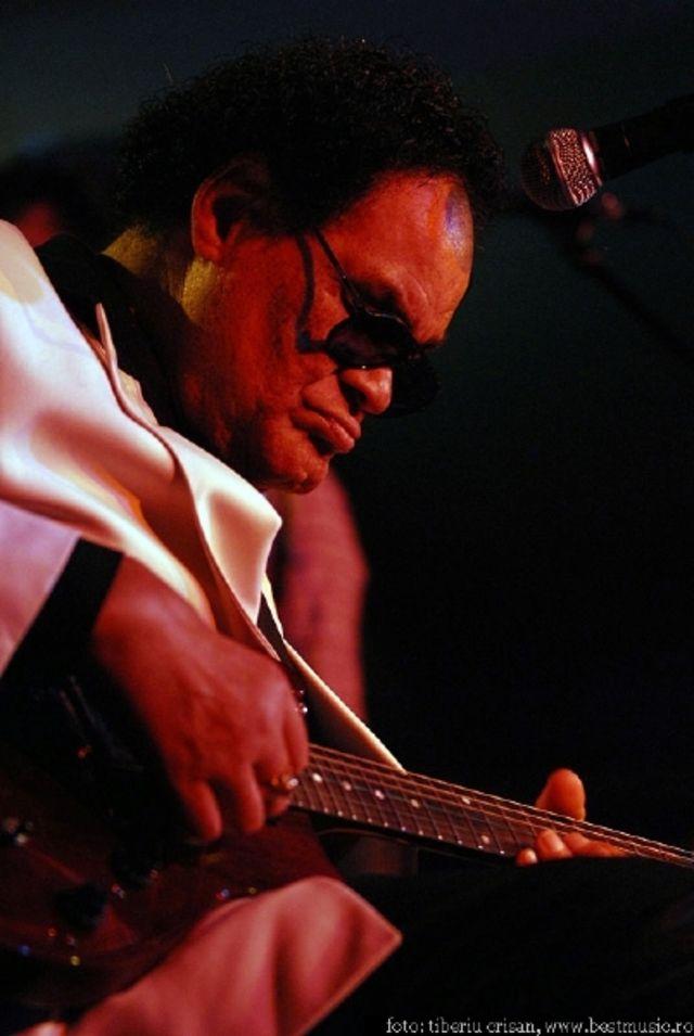 Louisiana Red live @ Hard Rock Cafe Bucuresti 2008