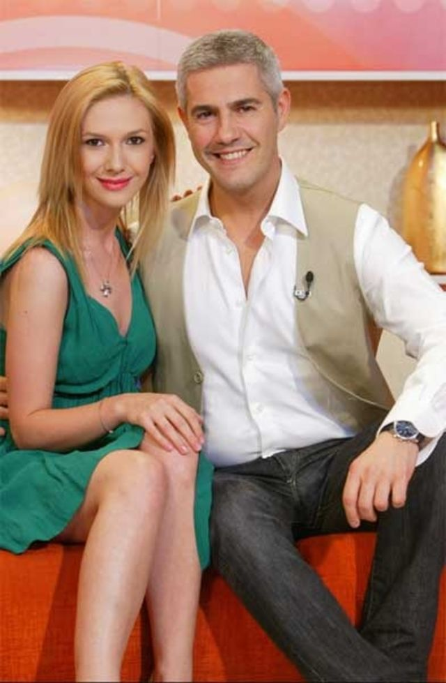 Alessandro Safina  cu Adela Popescu