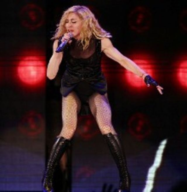 Madonna, huiduita la Bucuresti, scrie presa straina