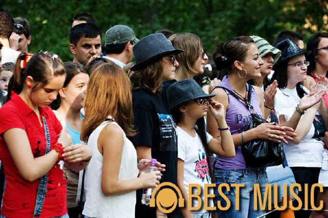 Poze inaugurare alee Michael Jackson in Herastrau