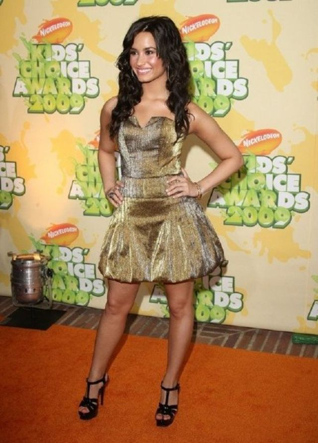 Demi Lovato la Kids Choice Awards 2009