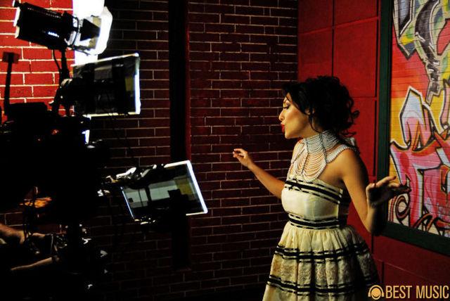 Andra - filmari clip Femeia