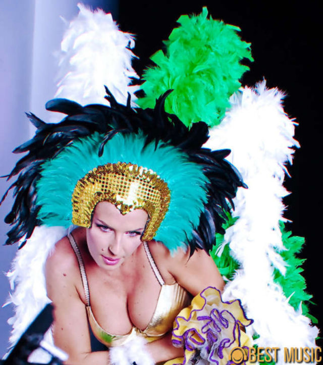 Poze Andreea Banica, Making Of Samba Octombrie 2009