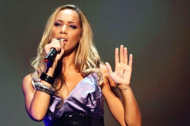 Leona Lewis - la primul concert