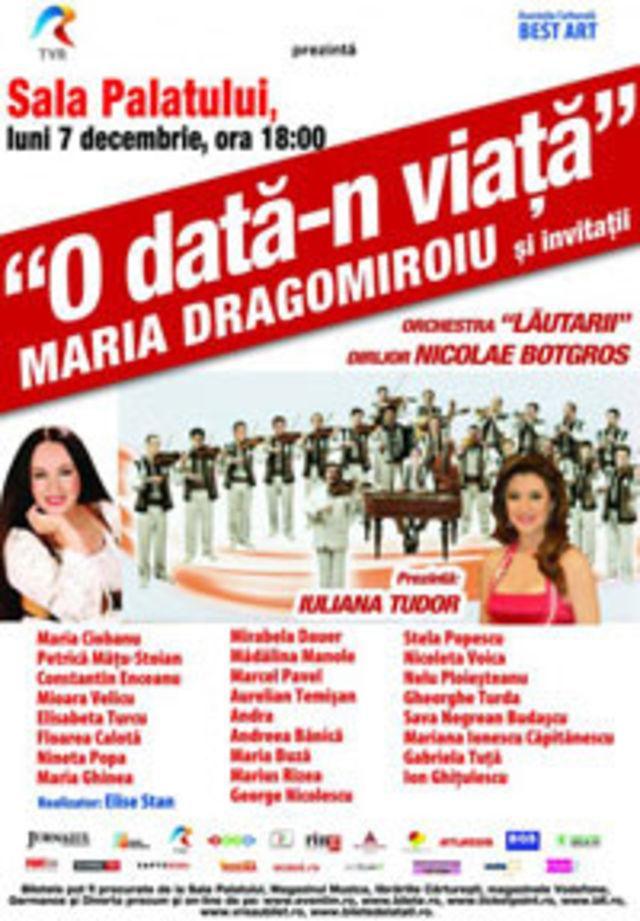 O data-n viata Maria Dragomiroiu si invitatii canta la Sala Palatului