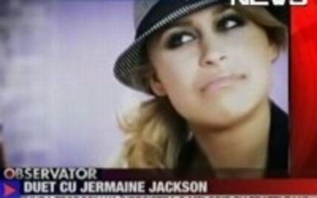 Linda Teodosiu, in duet cu Jermaine Jackson