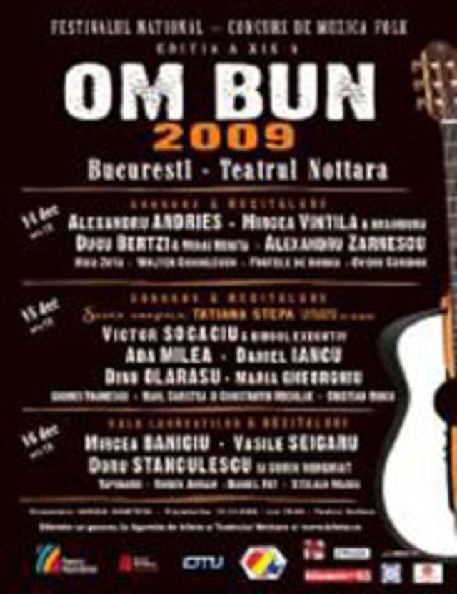 Festivalul de Muzica Folk Om Bun 2009