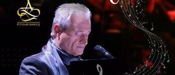 Cantaretul si compozitorul italian AMEDEO MINGHI va sustine un concert in premiera  la Sala Palatului