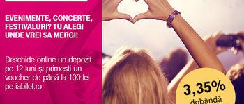 Depozitul online prin Telekom Banking te trimite la concert!
