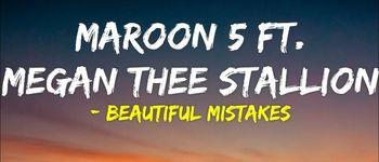 """Maroon 5 lanseaza au lansat single-ul """"Beautiful Mistakes"""", alaturi de Megan Thee Stallion"""